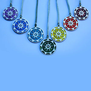 Buy a set of 7 Chakra Symbols and pay for only 6. Chakra Trust Symbols These Symbols have been designed to connect us to our Inner Wisdom. Trusting in our Higher Selves & the messages from our Guides. The Geometry is the 9 pointed star assisting us in connecting to our intuition. Respecting & nurturing the Divine in all. Uniquely inspired & created by Gypsy Queen