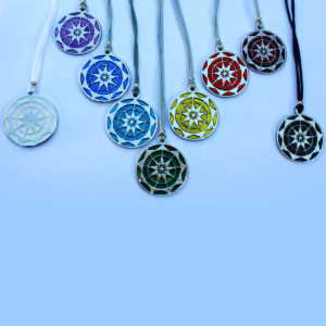 Buy a set of 9 Chakra Symbols and pay for only 8. Chakra Trust Symbols These Symbols have been designed to connect us to our Inner Wisdom. Trusting in our Higher Selves & the messages from our Guides. The Geometry is the 9 pointed star assisting us in connecting to our intuition. Respecting & nurturing the Divine in all. Uniquely inspired & created by Gypsy Queen