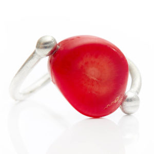 Red Coral Ring - Coral eases & calms the emotions.