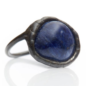 Sodalite Ring - Sodalite strengthens self-confidence & the flow of communication.