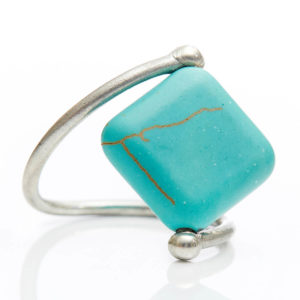 Turquoise Ring - Turquoise brings about Wisdom & Kindness.