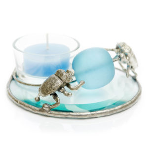 Scarab Beetles spinning the Blue Sphere The Scarab is a symbol of new life. Light the candle & visualize new possibilities.