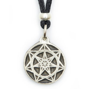 Mysticism The SEVEN pointed star represents harmony. Once the balance is attained, our intuitive wisdom flows. Giving us the courage to master the MYSTICAL ways. This symbol will assist in attaining peace of mind & deeper understanding.