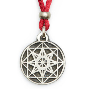 POWER & MASTERY - The EIGHT pointed star is a powerful symbol. The solid base of the square gives stability. Enables one to expand qualities of leadership & Master Manifestation successfully. Be mindful with your power. Be your own Master with Wisdom.