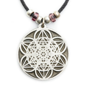 This symbol brings levels of order into previously chaotic fields of excessive electromagnetic smog. 6 Circles bring in columns of light vibrating to clear & neutralize any harmful energy, creating harmony & eliminating conflict. This will help you & the environment feel calm & balanced. Wear this to protect against the electromagnetic pollution. Great for computer GEEKS.